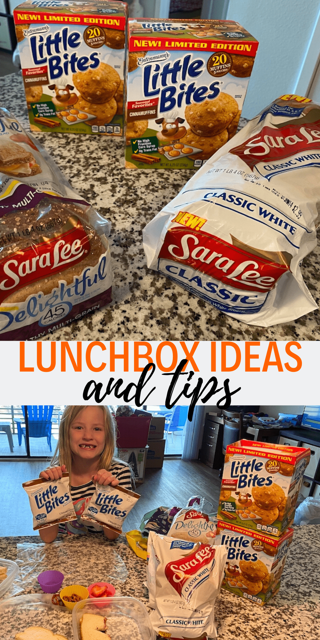 lunchbox ideas and tips