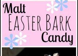 Malt Easter Bark Candy Recipe