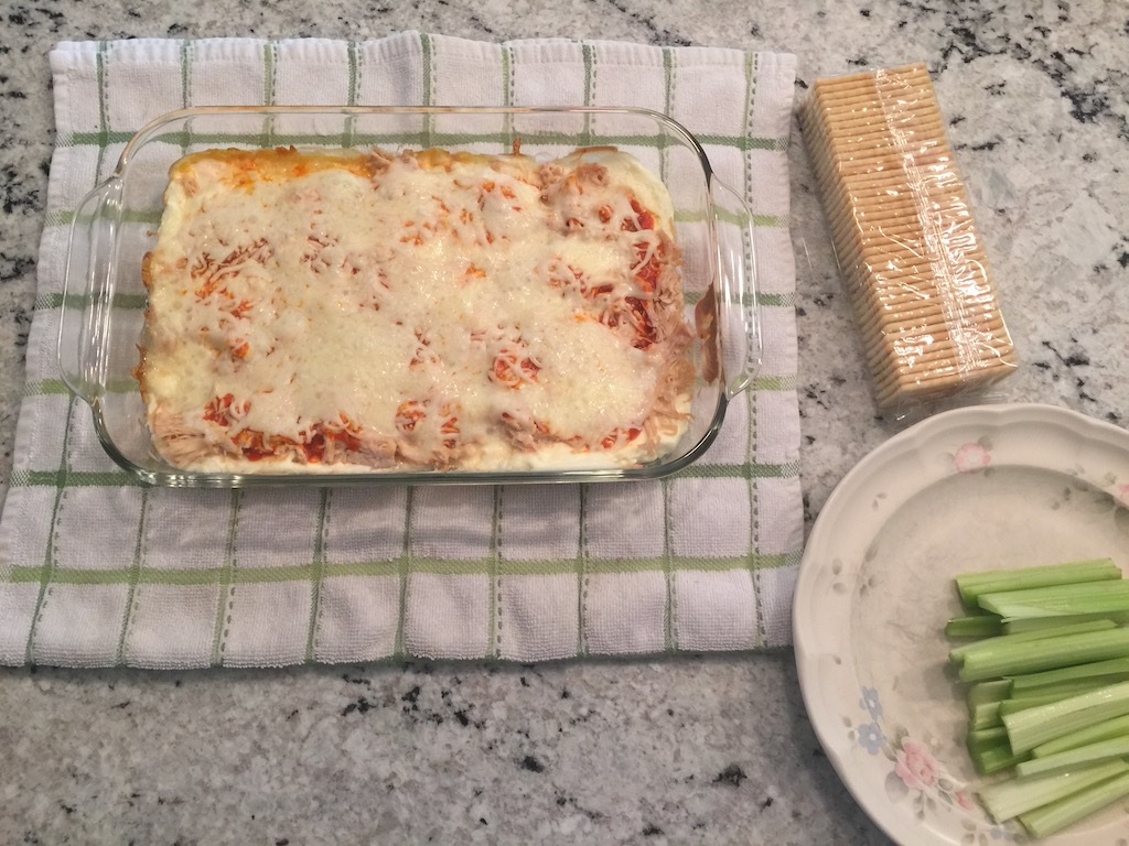 oven baked chicken wing dip