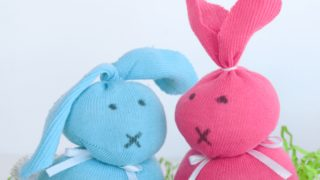Sock Bunny Craft