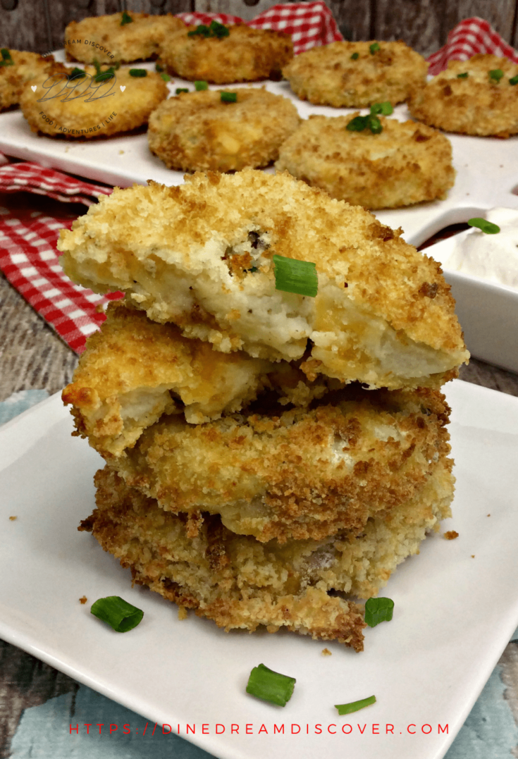 Air Fryer Mashed Potato Cakes