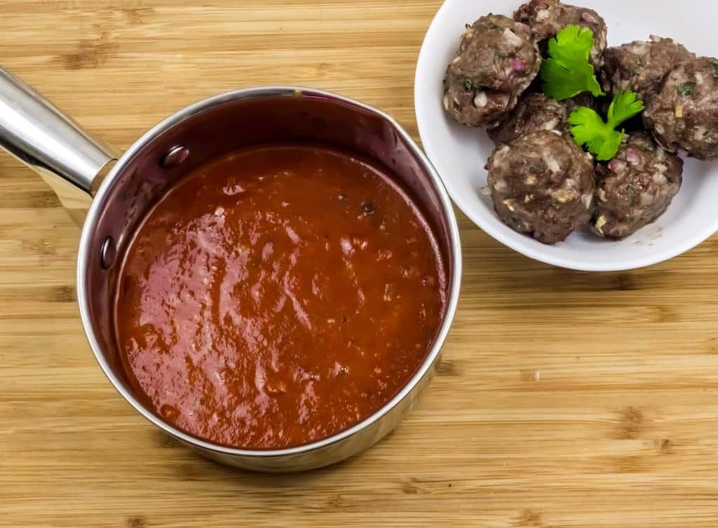 frozen meatballs in ninja foodie