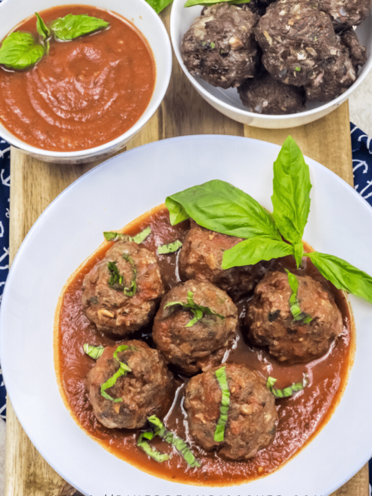 air fryer meatballs keto