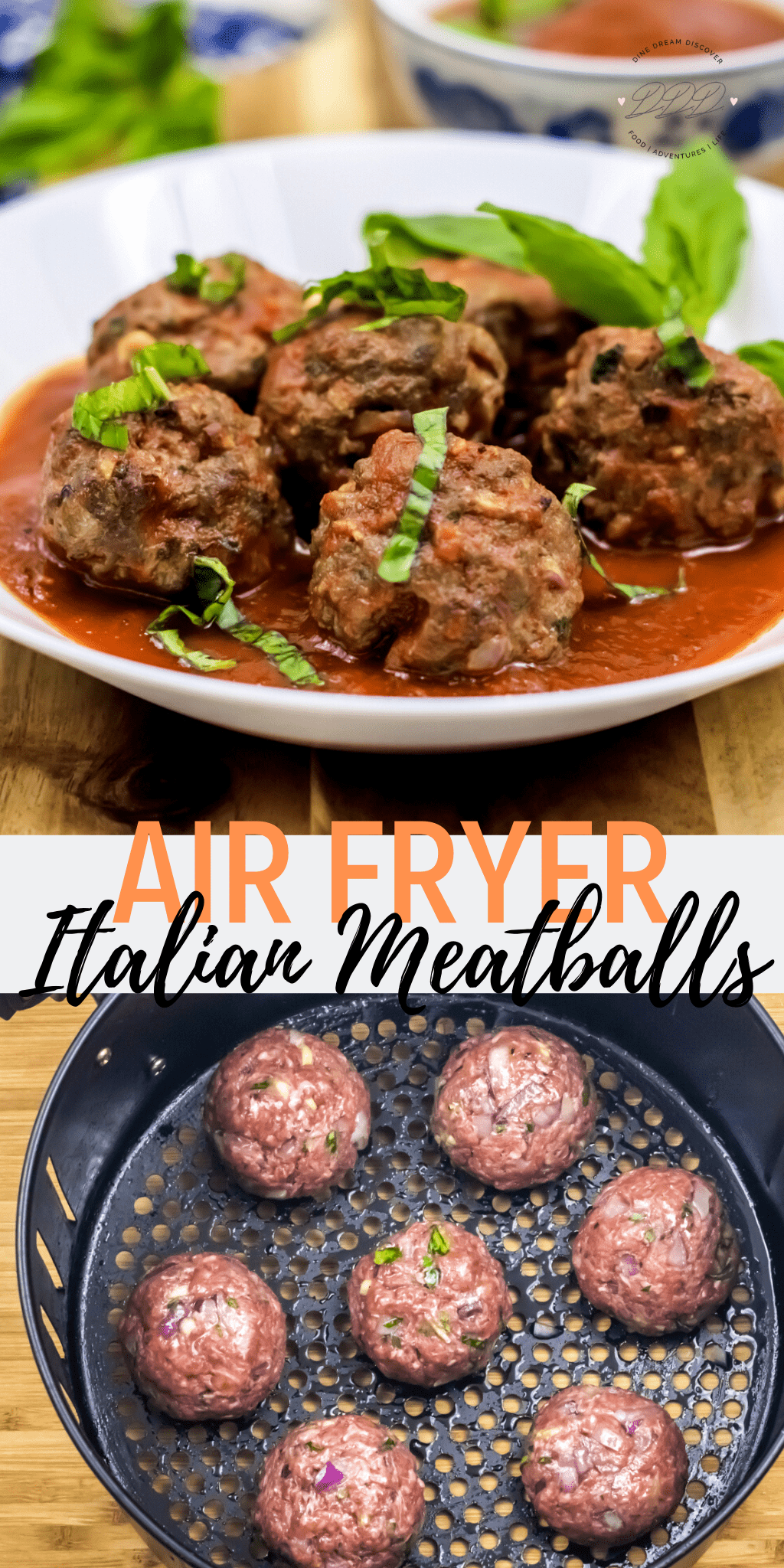 air fryer meatballs in tomato sauce