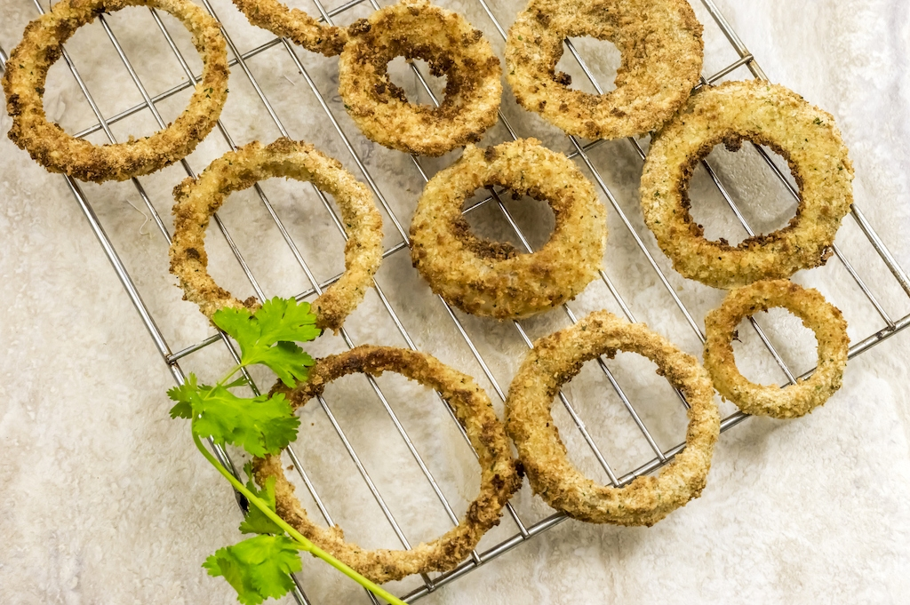 air fryer onion rings weight watchers
