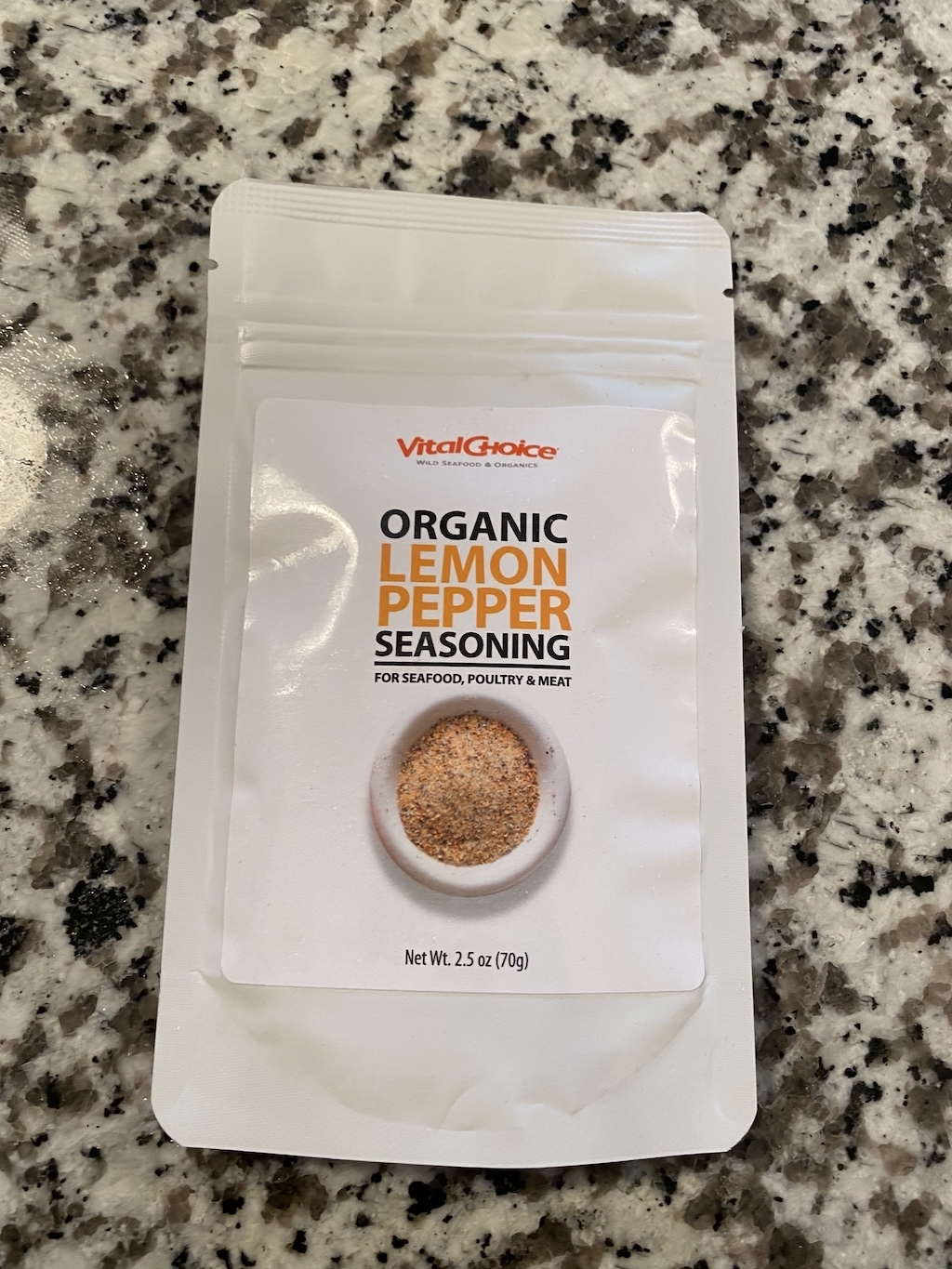 organic lemon pepper seasoning
