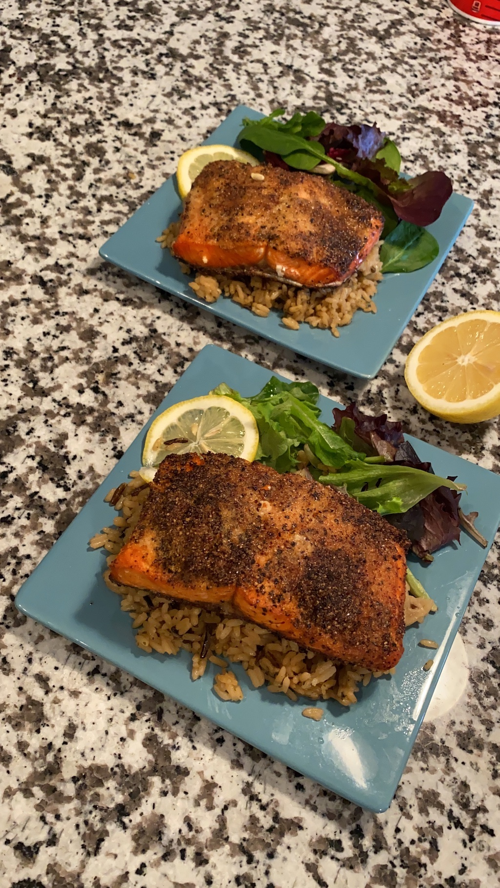 air fryer lemon pepper salmon