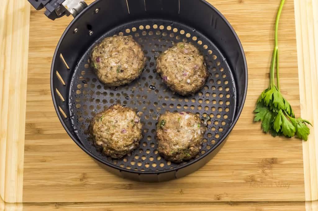 turkey burgers air fryer