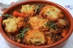 Instant Pot Beef Stew Scraps & Parsley Dumplings