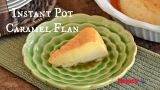 Instant Pot Caramel Flan Recipe