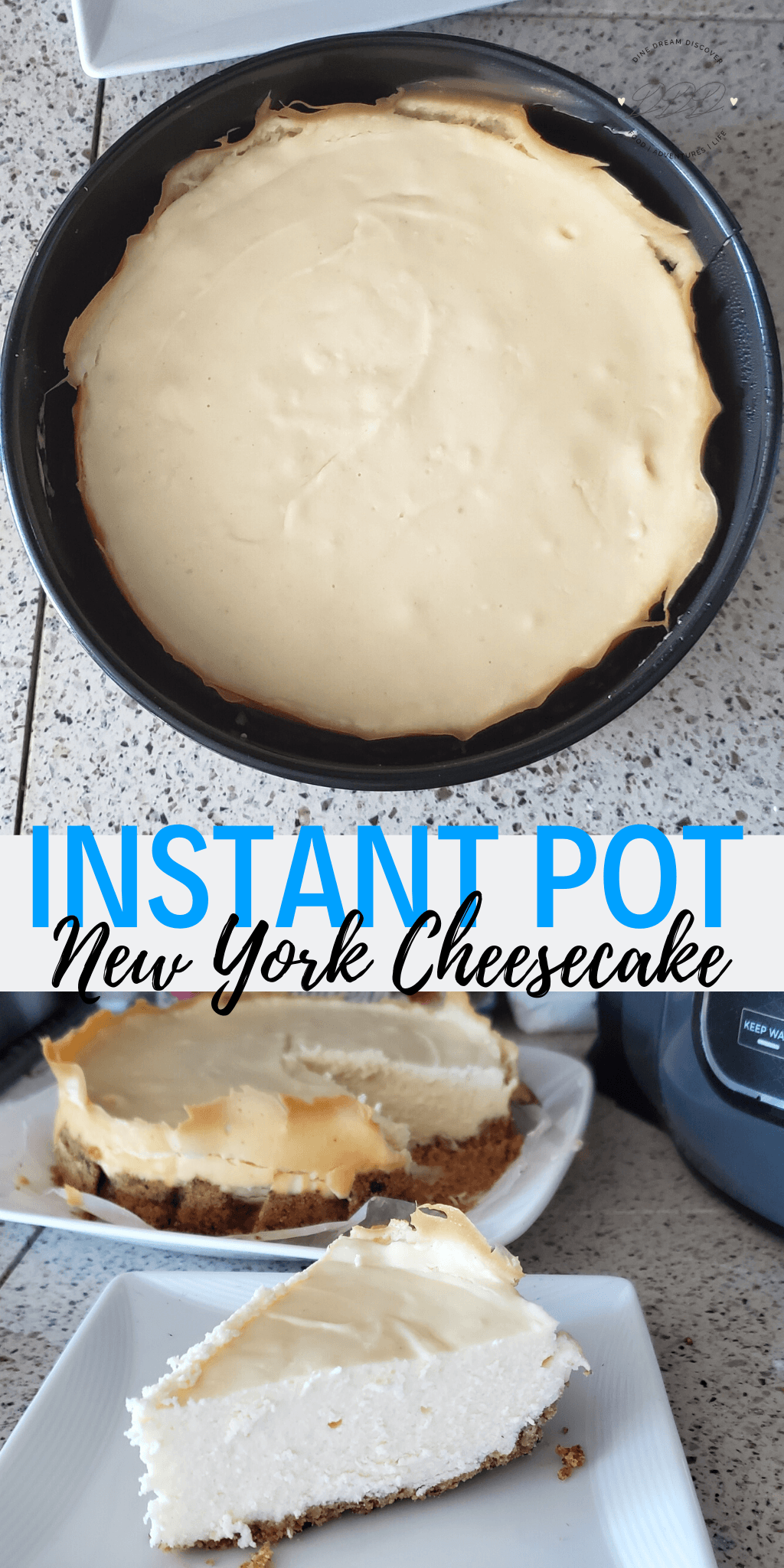 Instant Pot Cheesecake New York Style