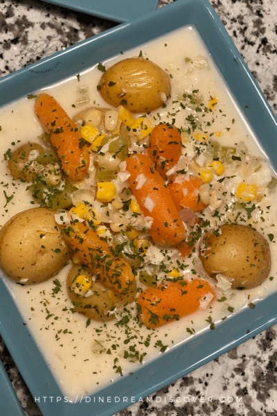 instant pot fish and potato chowder