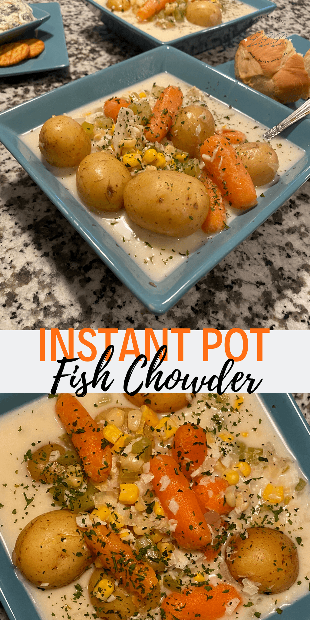 instant pot fish chowder
