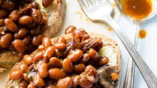 Pressure Cooker Baked Beans (Instant Pot)
