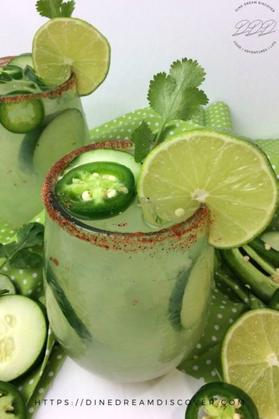 spicy cucumber margarita recipe