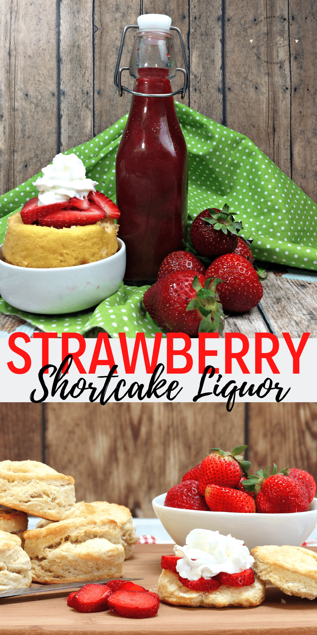 Strawberry Shortcake Liquor