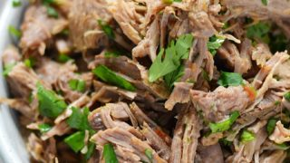 Mexican Style Shredded Beef {Instant Pot}