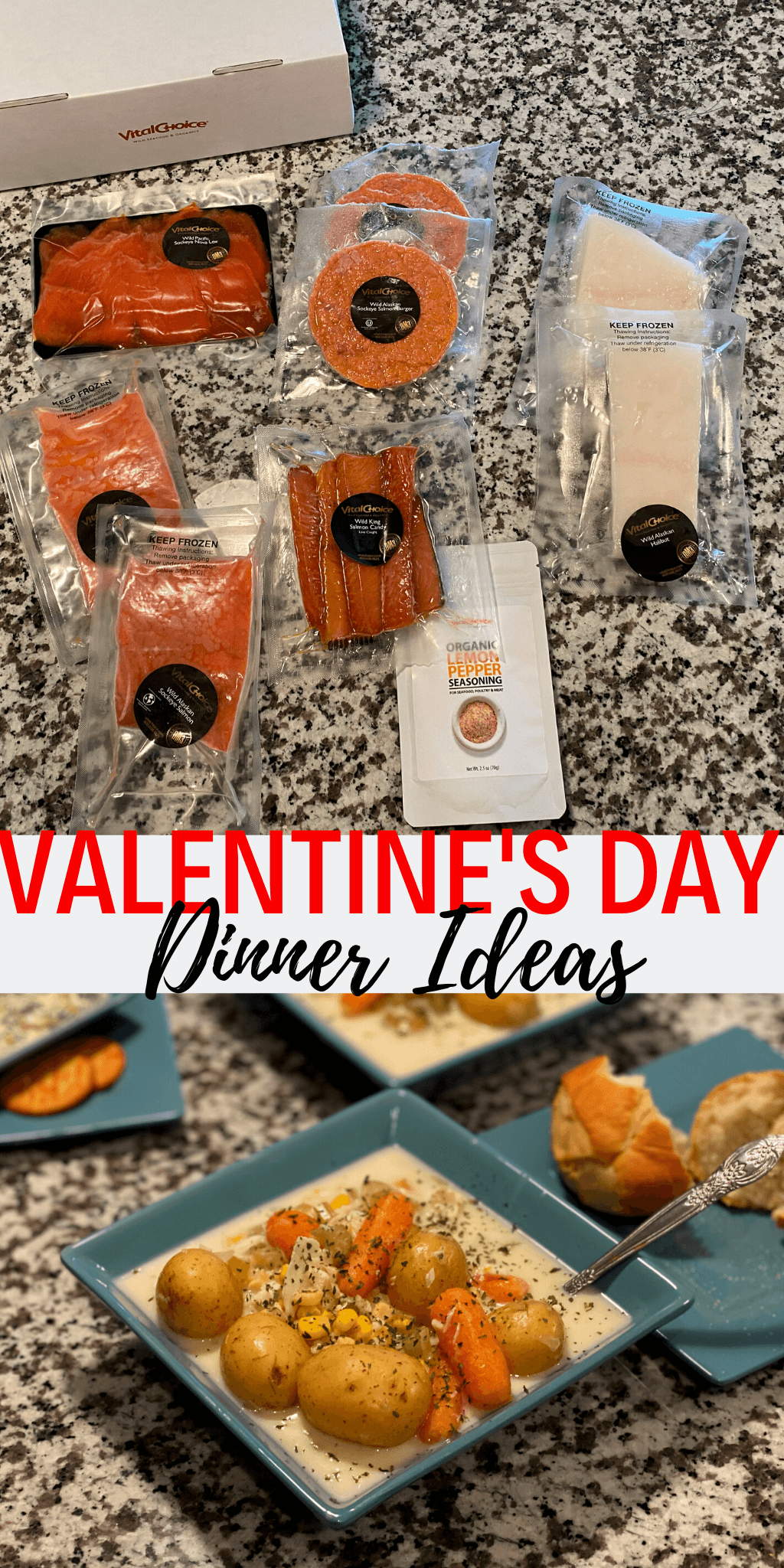 valentines day seafood dinner ideas