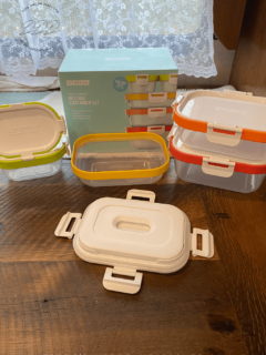 ZOKU Neat Stack Nesting Food Storage Containers