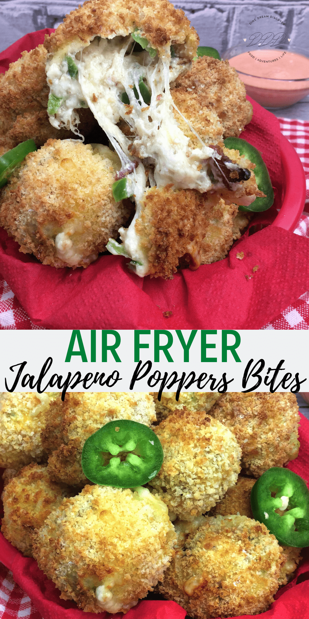 air fryer bacon jalapeno poppers bites