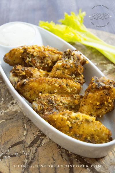 frozen chicken wings in the air fryer