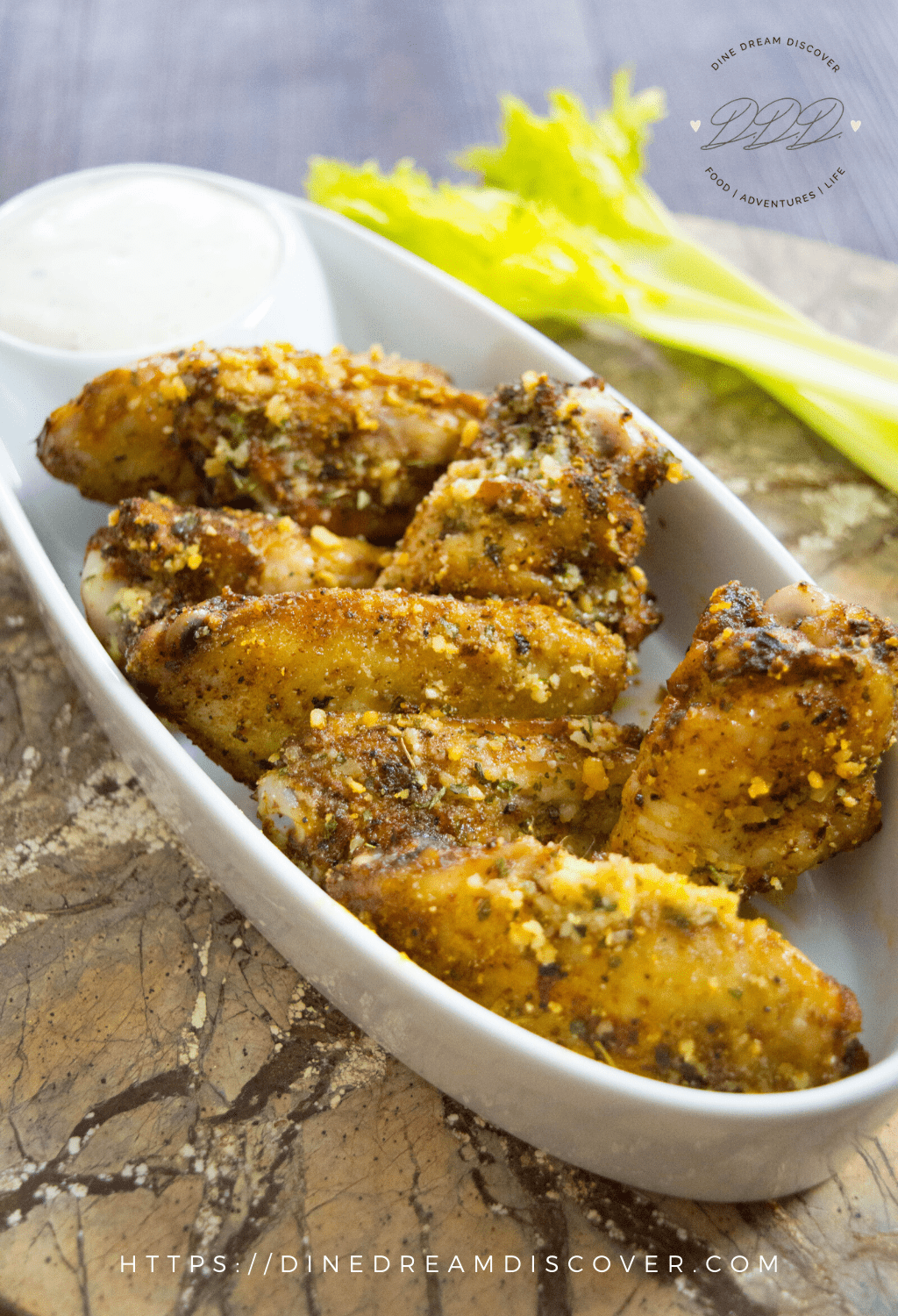 Air Fryer Cajun Chicken Wings Dine Dream Discover
