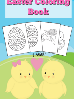 easter coloring book download