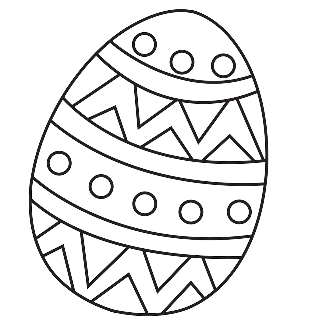 Easter Coloring Pages Free PDF | DINE DREAM DISCOVER