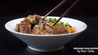 Instant Pot HK Garlic Beef Rice Bowl (Pot in Pot)