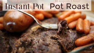The Best Instant Pot Pot Roast & Gravy Recipe in one pot!