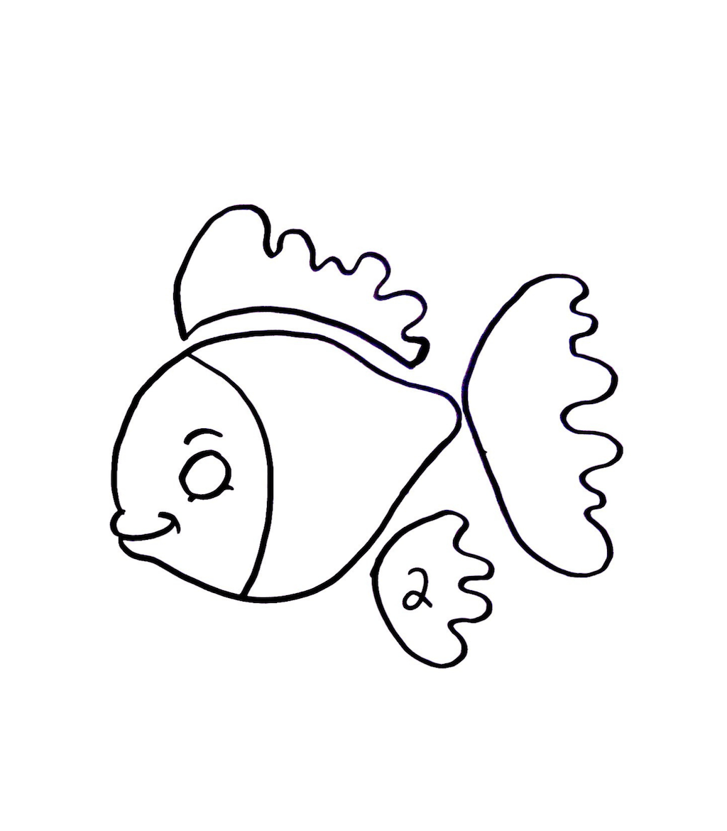 fish craft template
