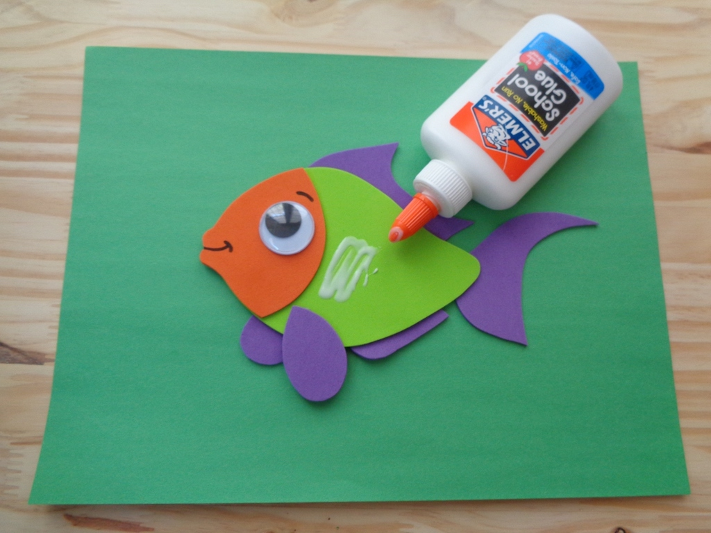 craft fish for kids