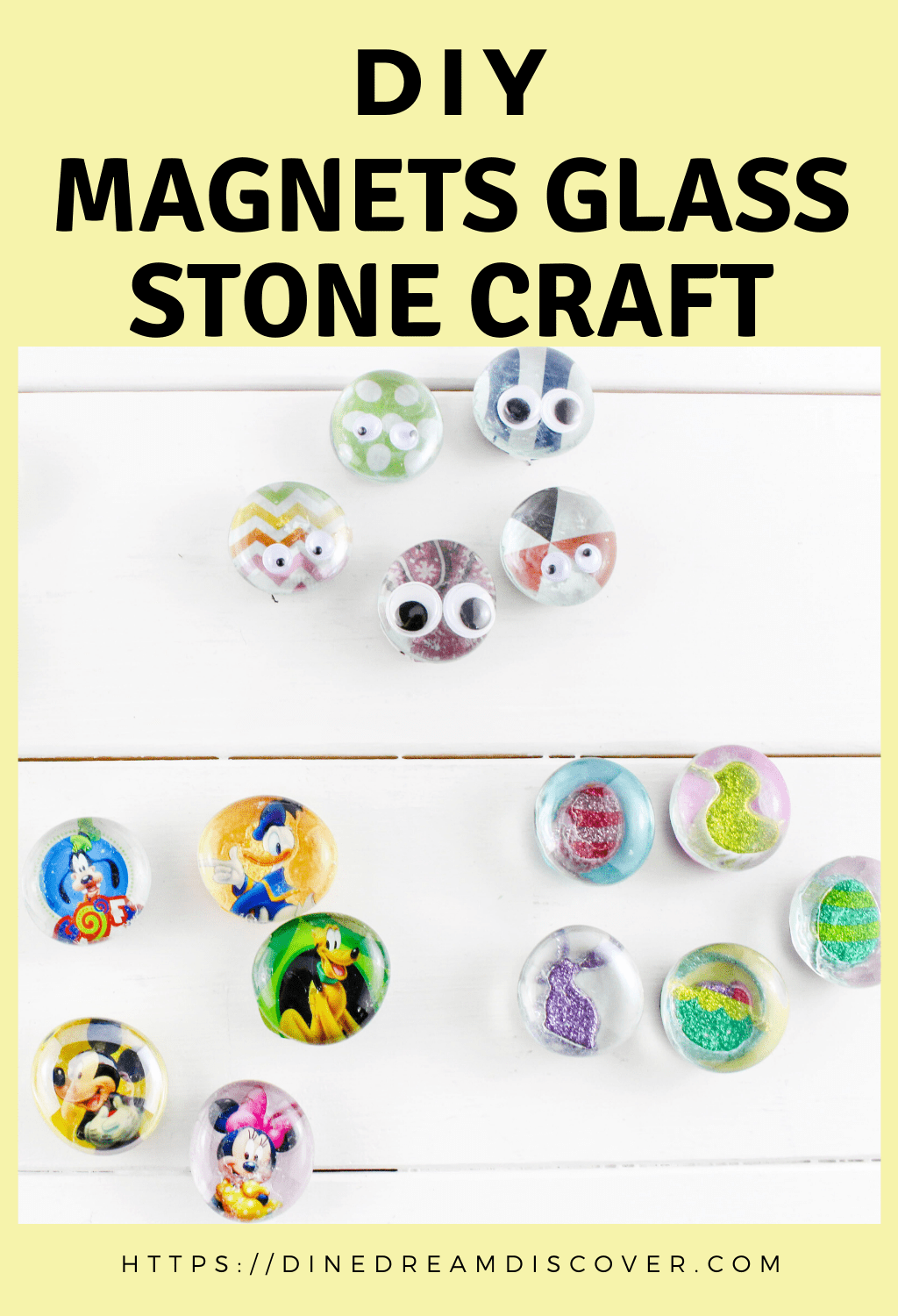 glass stone magnets