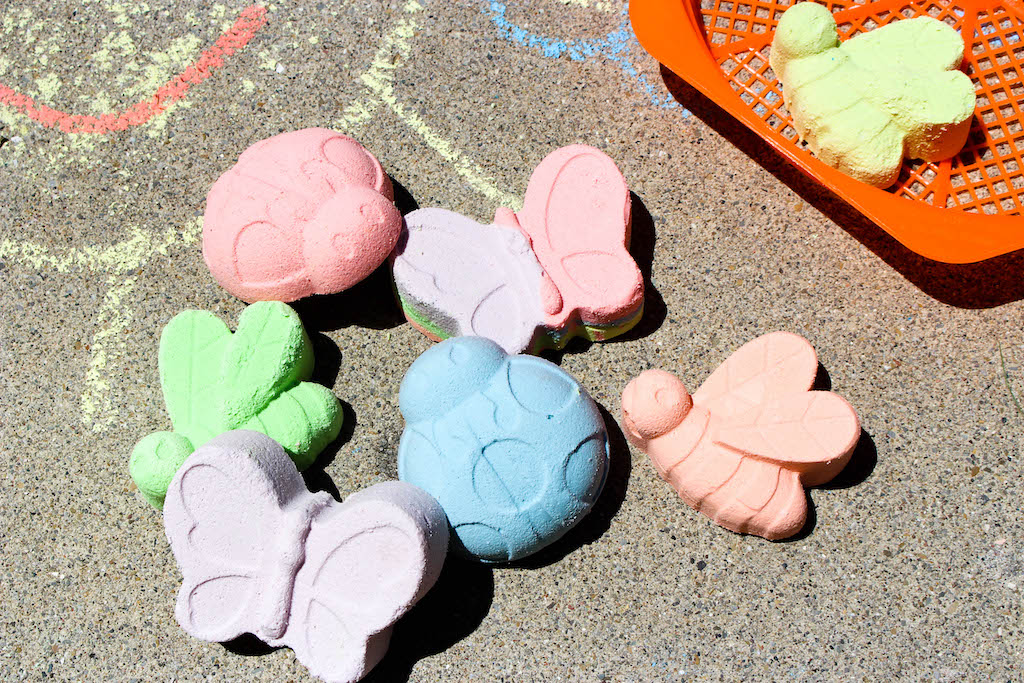 plaster of paris sidewalk chalk