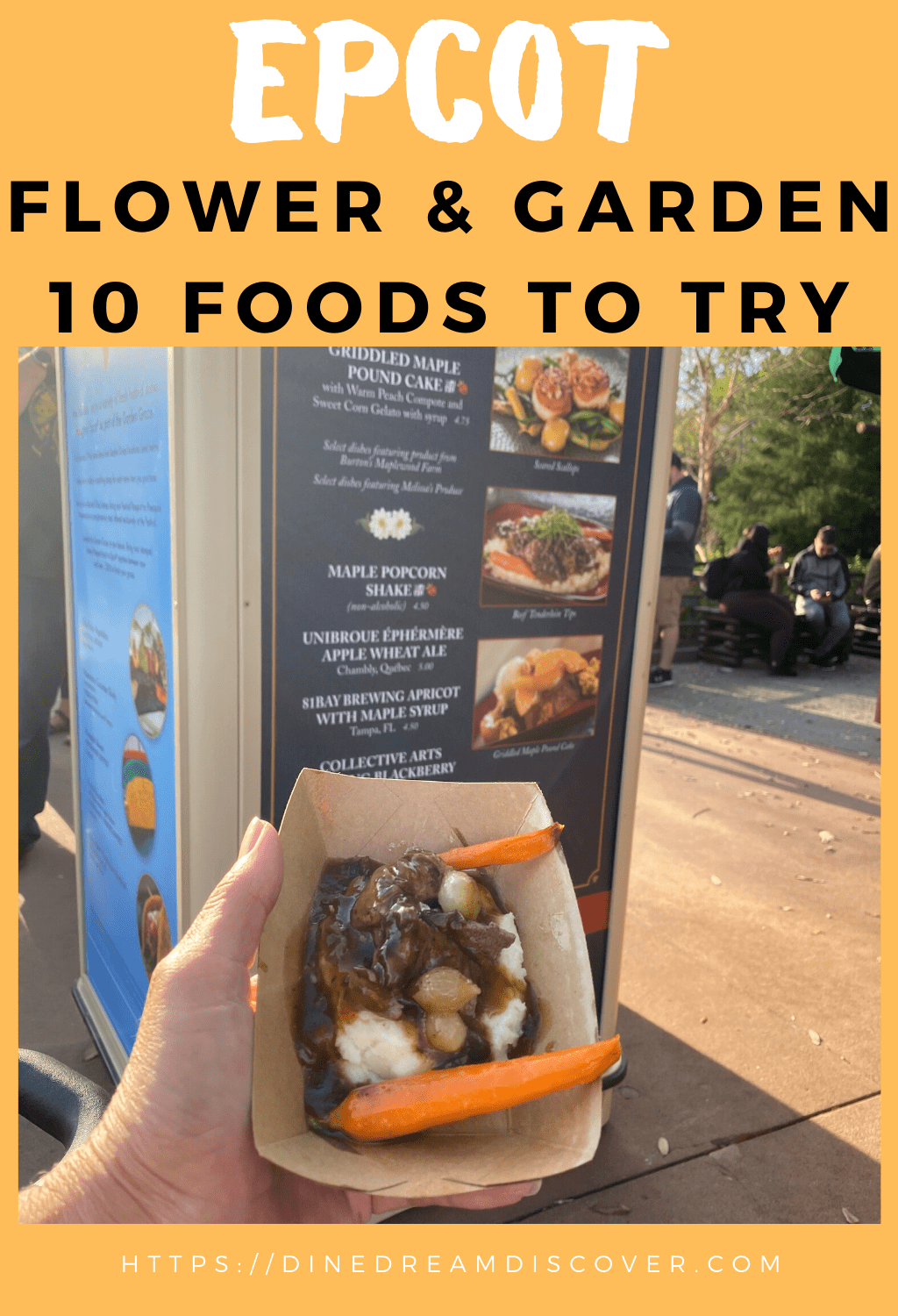 Eating Around the World at Epcot Flower and Garden
