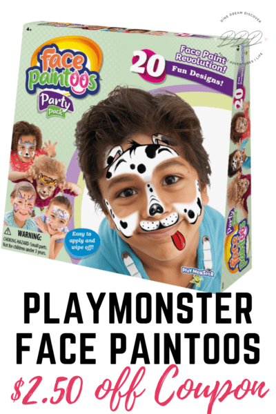 playmonster face paintoos face designs