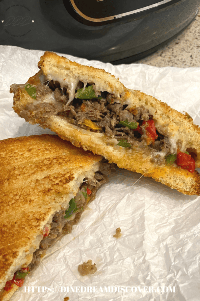 AIR FRYER GRILLED CHEESESTEAK RECIPE