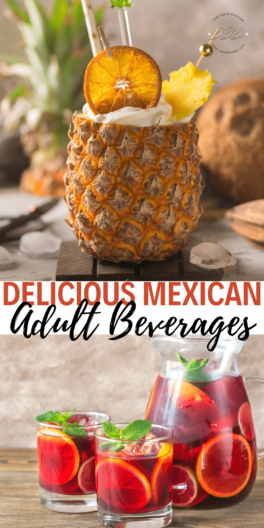 Beyond The Margarita, Delicious Mexican Alcoholic Beverages