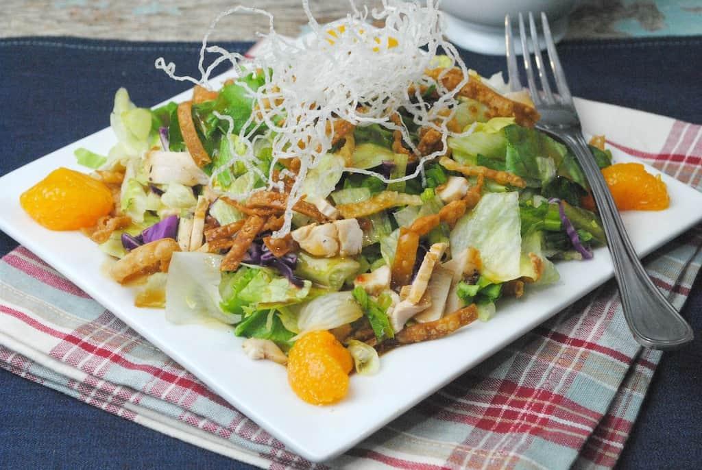 Copycat Cheesecake Factory Chicken Salad Recipe
