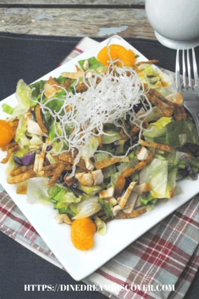 Copycat Cheesecake Factory Chinese Salad Recipe