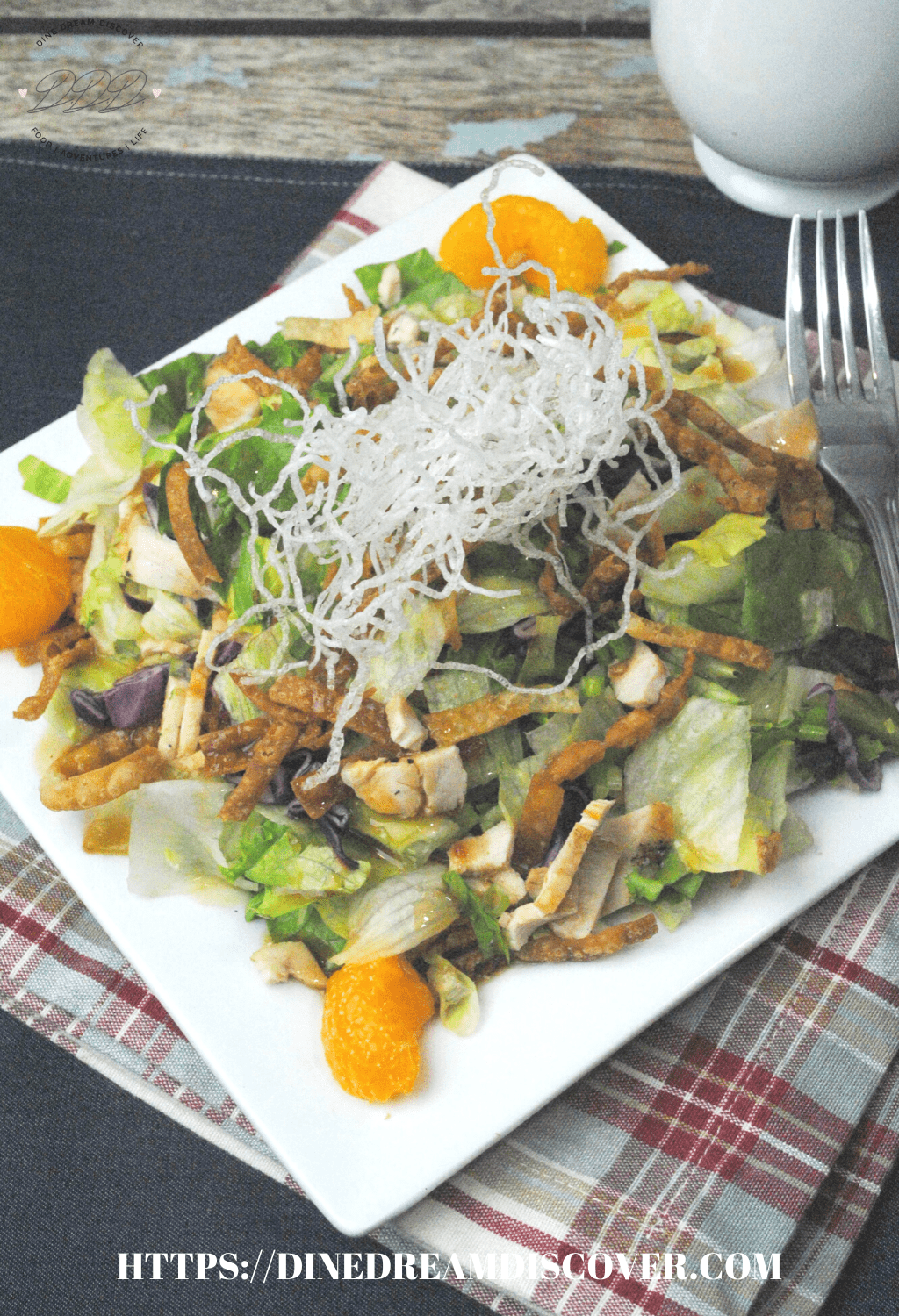 Copycat Cheesecake Factory Chinese Salad Recipe