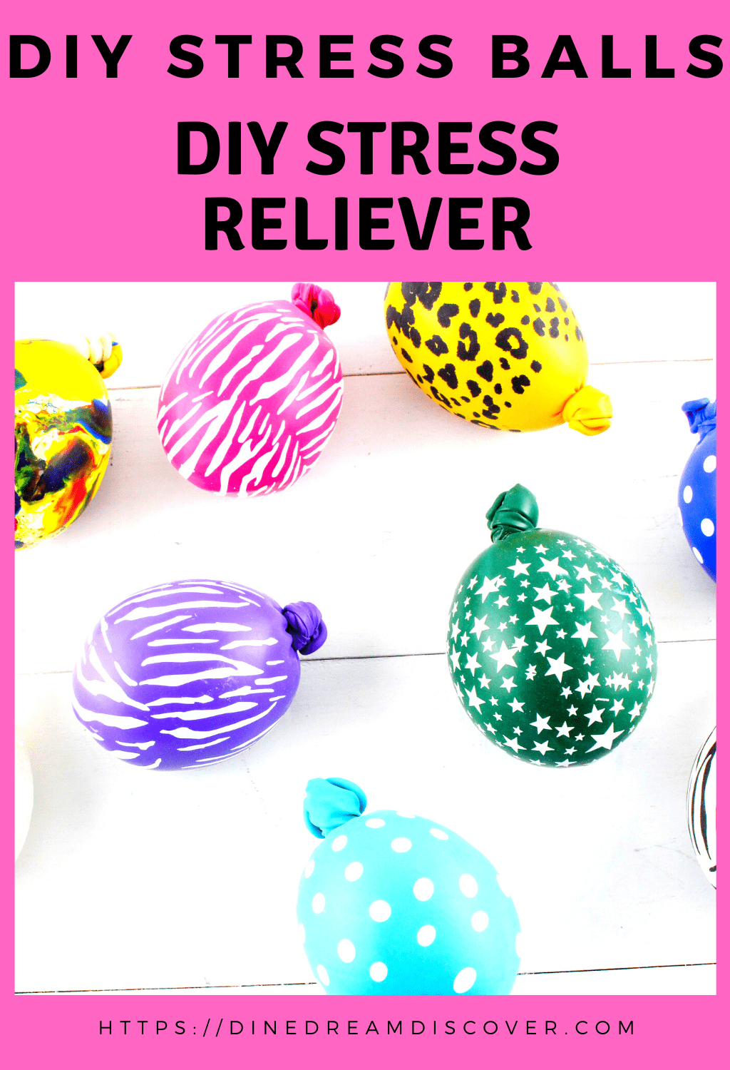 things to put in homemade stress balls