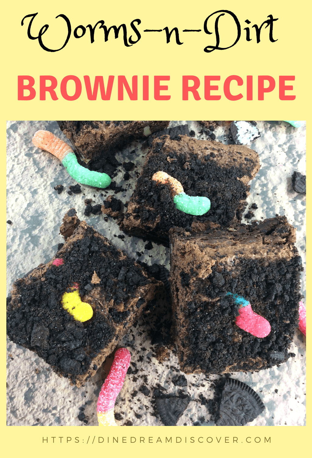 dirt cake brownie trifle