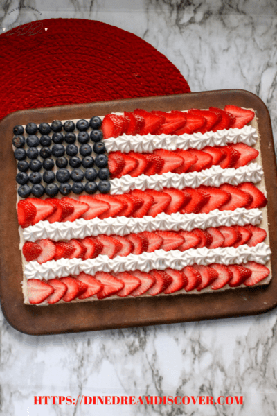 Flag Fruit Pizza Recipe