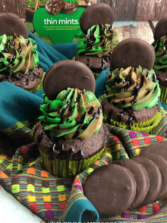 Girl Scout Cookies Thin Mint cookies