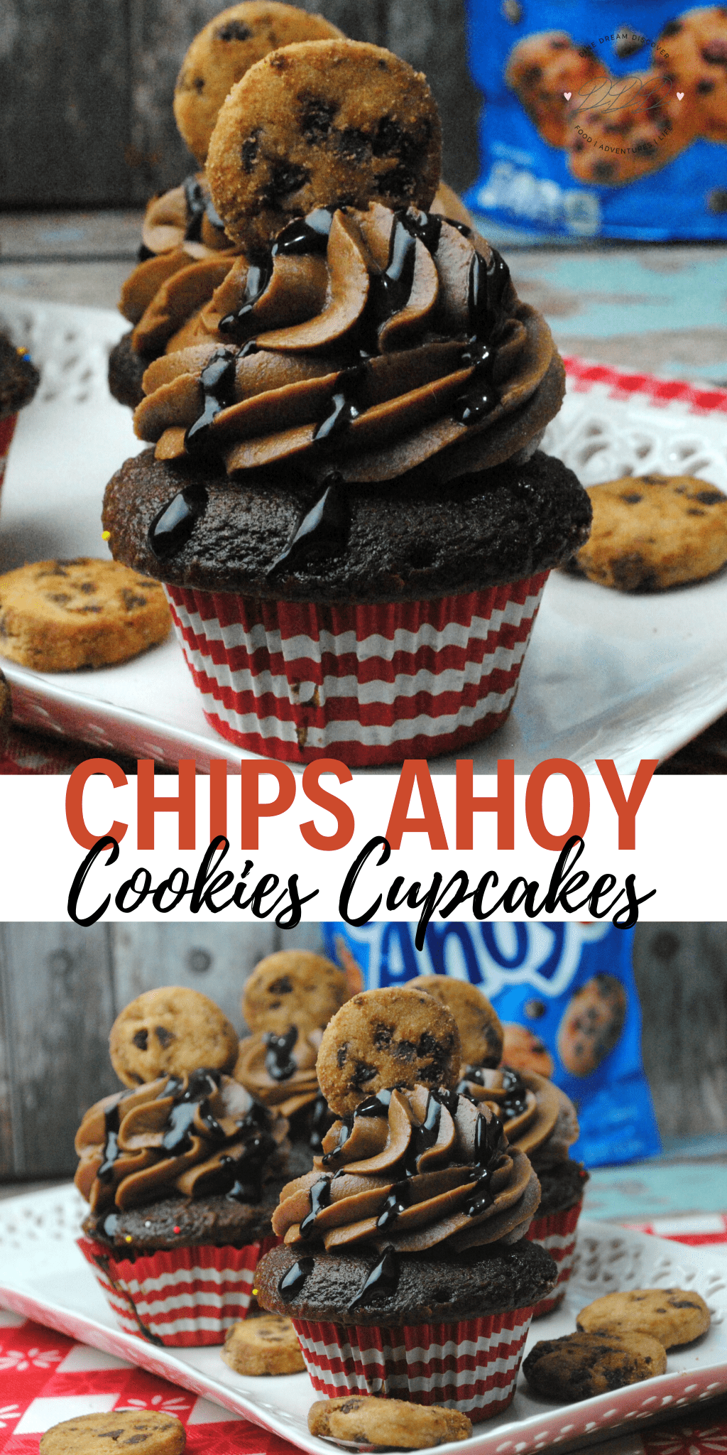 CHIPS AHOY COOKIE CUPCAKES RECIPE