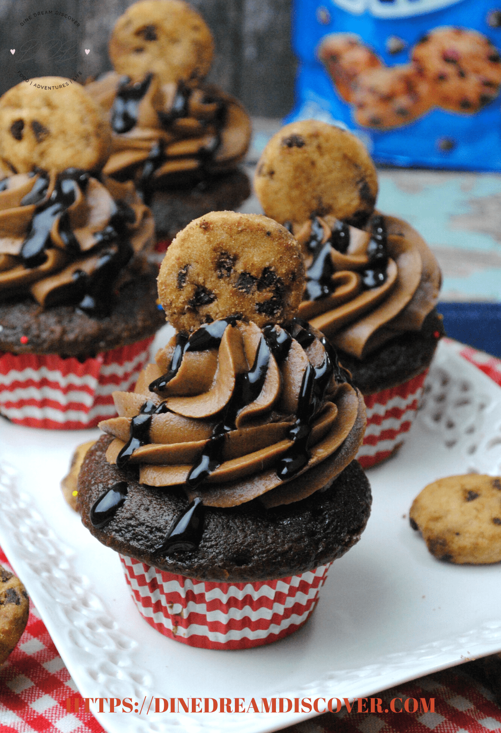 Chips Ahoy Cookie Cupcake Recipe