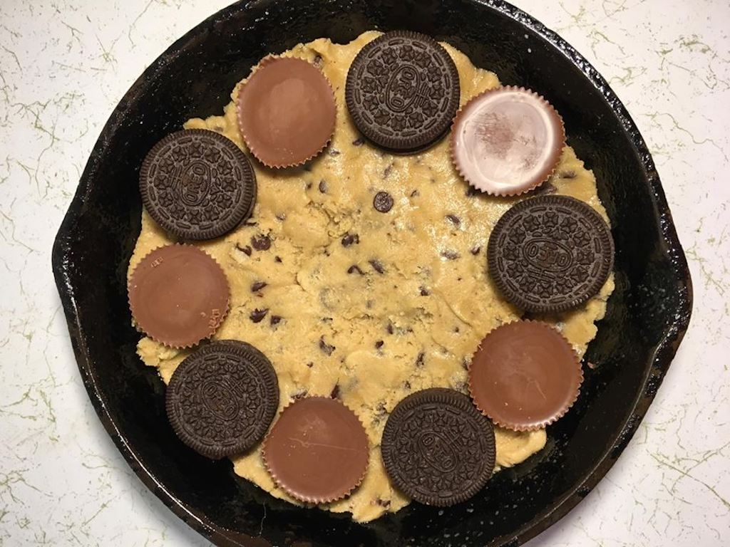 cast iron skillet cookie kit recipe