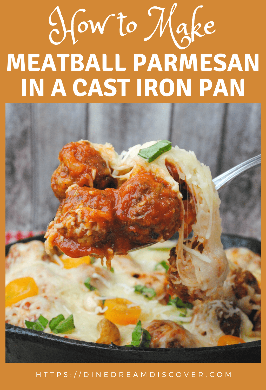 making meatballs in cast iron pan