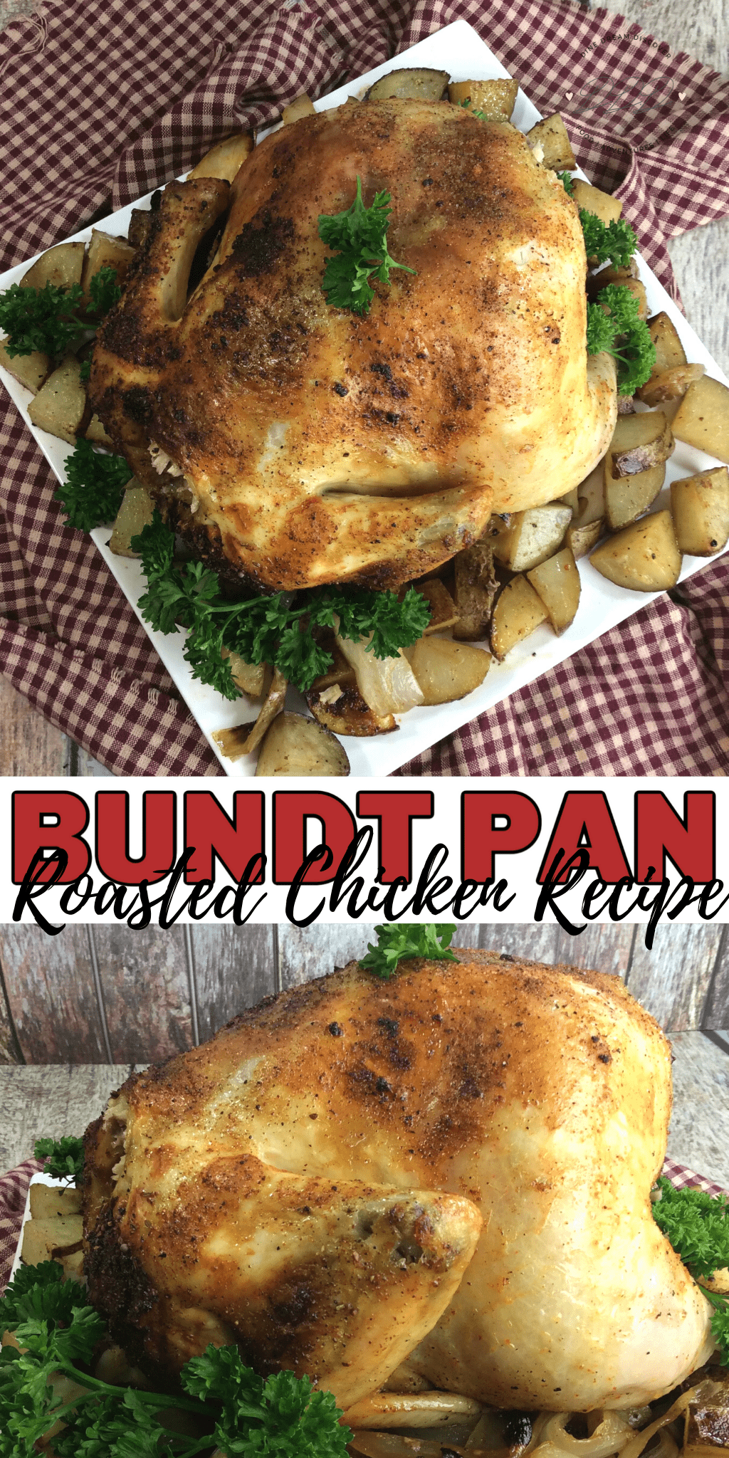 tbsp bundt pan roasted chicken and vegetables